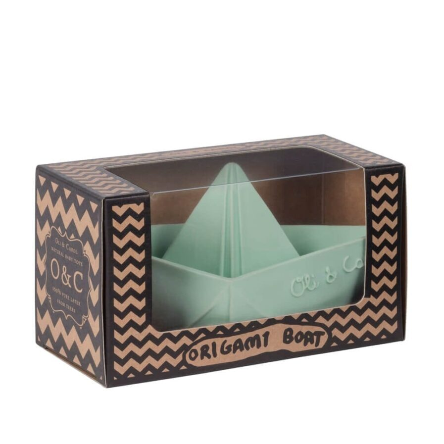 Origami Boat Mint: Packaging
